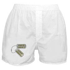 Unique Proud army dad Boxer Shorts
