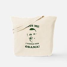 Kiss Me! St. Patrick's Day Obama Tote Bag