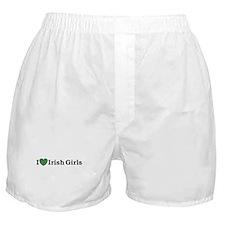 I Love Irish Girls Boxer Shorts
