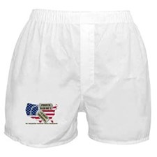Proud Dad of 2 US Army Soldiers Boxer Shorts