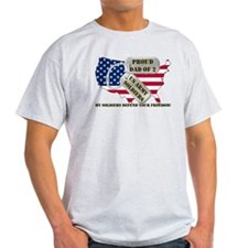 Proud Dad of 2 US Army Soldiers T-Shirt