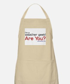 Weather Geek BBQ Apron