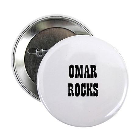 "OMAR ROCKS 2.25"" Button (10 pack)"
