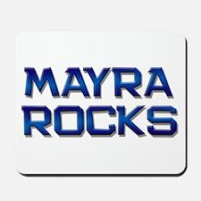 mayra rocks Mousepad