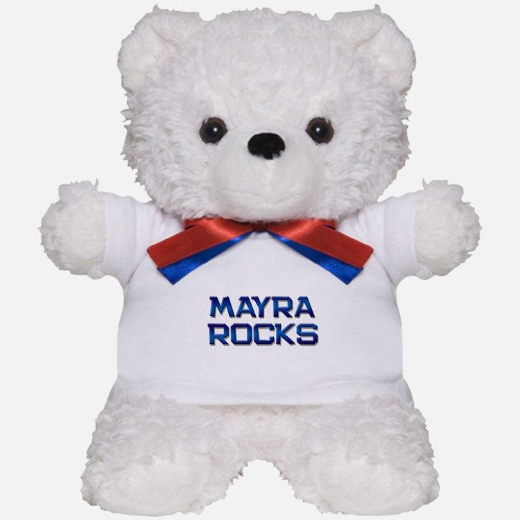 mayra rocks Teddy Bear