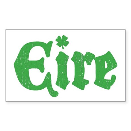 Eire Rectangle Sticker