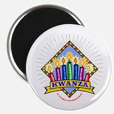 "Kwanzaa Gift 2.25"" Magnet (10 pack)"