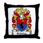 Schutze Coat of Arms Throw Pillow