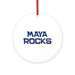 maya rocks Ornament (Round)