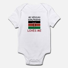 My Kenyan Girlfriend Loves Me Infant Bodysuit