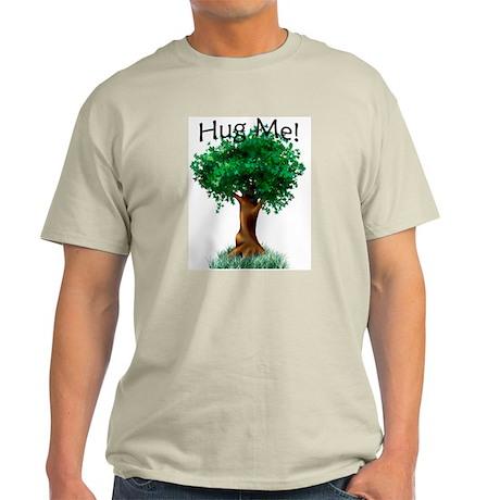 """Tree Hugger"" Ash Grey T-Shirt"