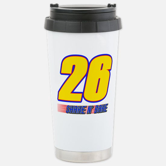 Shake N' Bake Stainless Steel Travel Mug