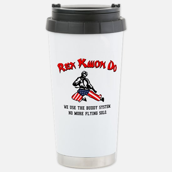 Rex Kwon Do Stainless Steel Travel Mug