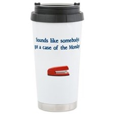 Case of the Monday's Travel Mug