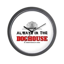 In The Doghouse Wall Clock, Oil, Gas,