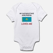 My Kazakhstani Girlfriend Loves Me Infant Bodysuit