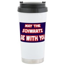 May The Schwartz Be With You Travel Mug