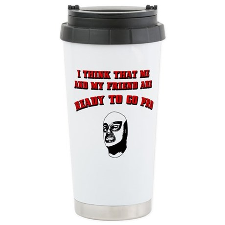 Ready To Go Pro Stainless Steel Travel Mug