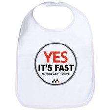 Yes It's Fast Bib