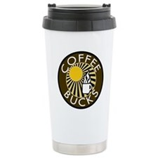 Coffee Bucks Travel Mug