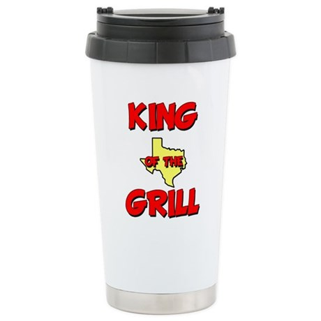 King of the Hill Stainless Steel Travel Mug