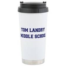 Tom Landry Middle School Travel Mug