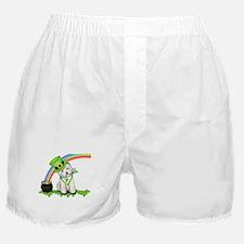 Shamrock Westie Boxer Shorts