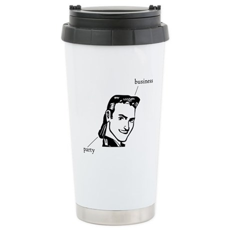 Mullet Stainless Steel Travel Mug
