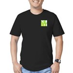GLBT Tropo Pocket Pop Men's Fitted T-Shirt (dark)