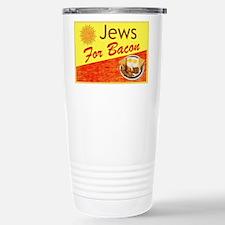 Jews For Bacon Travel Mug