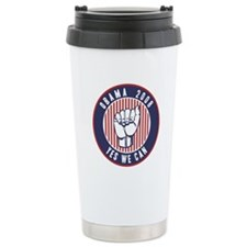 Obama Yes We Can Travel Mug