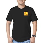 GLBT Hot Pocket Pop Men's Fitted T-Shirt (dark)