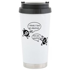 Atoms & Electrons Thermos Mug