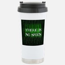 There Is No Spoon Travel Mug