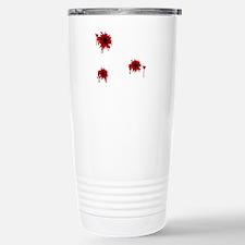 Bloody Bullet Hole Stainless Steel Travel Mug