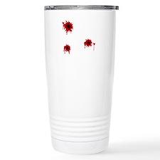 Bloody Bullet Hole Travel Mug