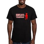 Valentine's Pimp Men's Fitted T-Shirt (dark)