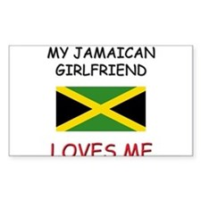 My Jamaican Girlfriend Loves Me Decal