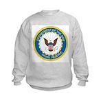 Naval Reserve (Front) Kids Sweatshirt