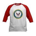 Naval Reserve (Front) Kids Baseball Jersey
