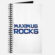 maximus rocks Journal