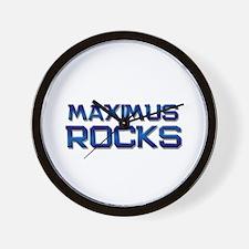 maximus rocks Wall Clock