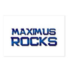 maximus rocks Postcards (Package of 8)