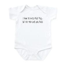 Voices make good points Infant Bodysuit