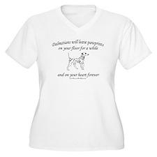 Dalmatian Pawprints T-Shirt