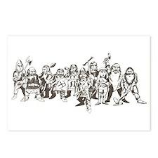 Unique Dwarves Postcards (Package of 8)