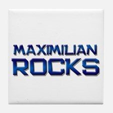 maximilian rocks Tile Coaster