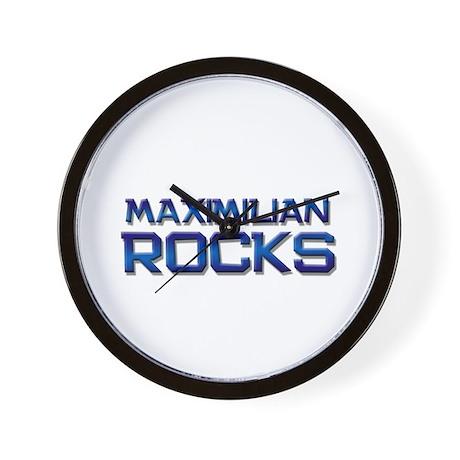 maximilian rocks Wall Clock