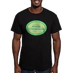 Proud Irishwoman Men's Fitted T-Shirt (dark)