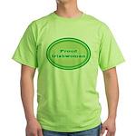 Proud Irishwoman Green T-Shirt